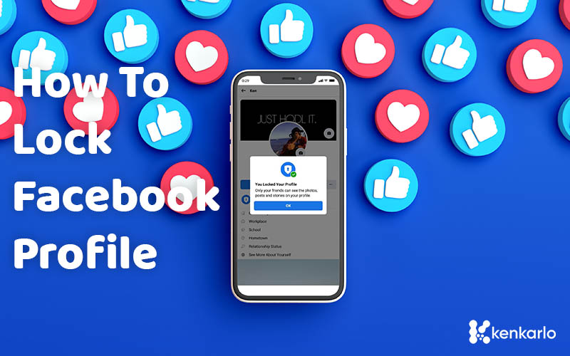 How to Lock/Disable your Facebook Profile using Mobile Phones - Kenkarlo.com