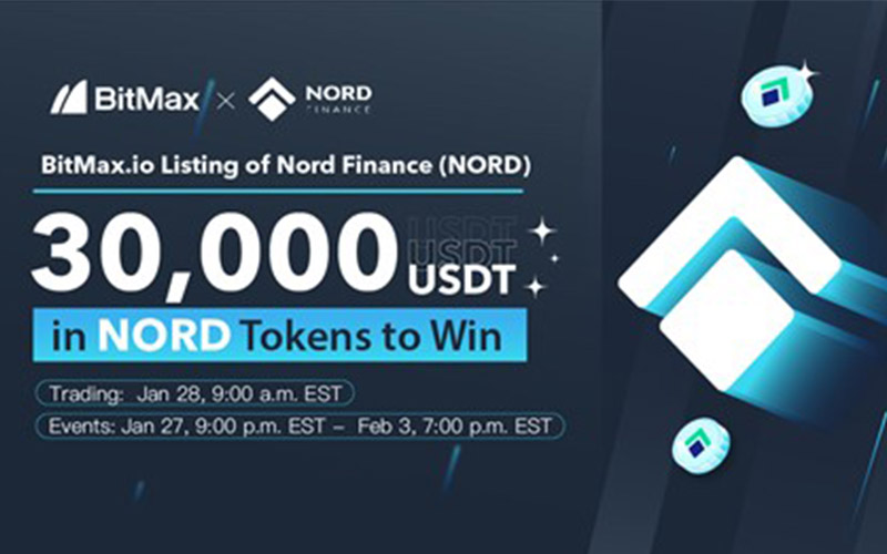 Nord Finance (NORD) to be Listed on BitMax.io - Kenkarlo.com