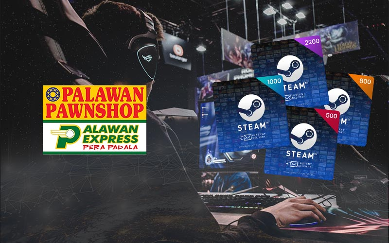 How to buy Steam Wallet Code using Palawan Pawnshop - Kenkarlo.com