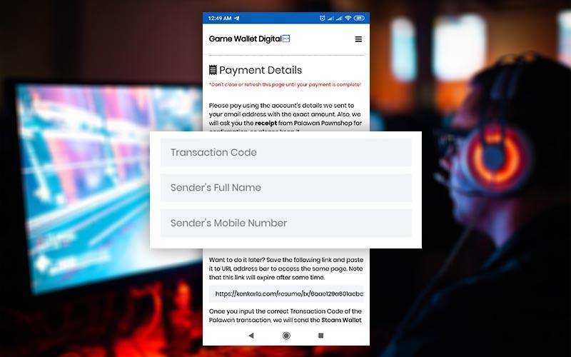 How to buy Steam Wallet Code using Palawan Pawnshop - Ken Karlo