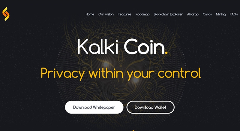 Kalki Coin — Privacy Within Your Control - KenkarloDotcom