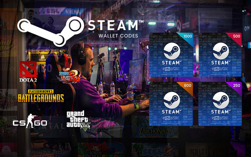 Steam Wallet Code Shop PH - Kenkarlo.com