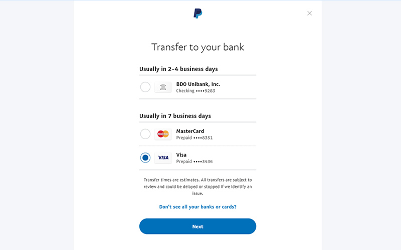 How to Send funds from Paypal to Paymaya account - Ken Karlo