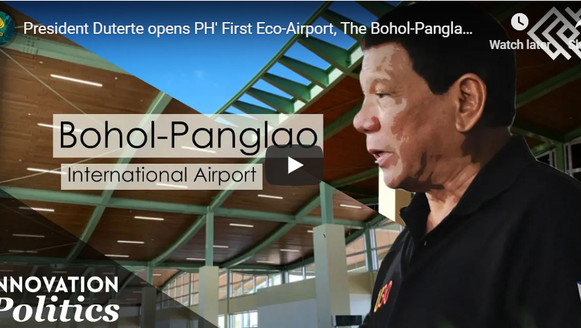 Philippines' First Eco-Airport, The Bohol-Panglao International Airport - KenkarloDotcom